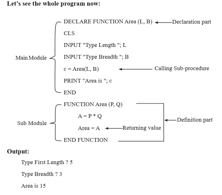 qbasic programs for class 10 with solutions